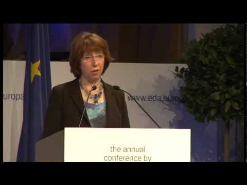Speech by Catherine ASHTON  at the EDA Annual Conference, part 1