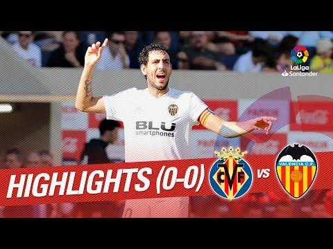 Resumen de Villarreal CF vs Valencia CF (0-0)