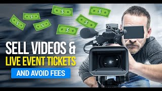 How To Sell Videos & Tickets To Your Events Online With PPV Streaming ➡️NO commission! ⬅️