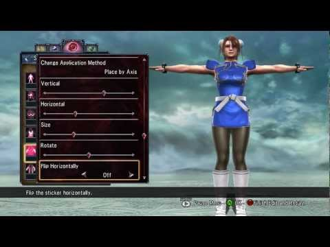 Soul Calibur V CaS - Chun-Li (Street Fighter) [Updated]