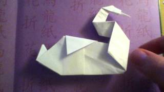 Preview Of Origami Swan