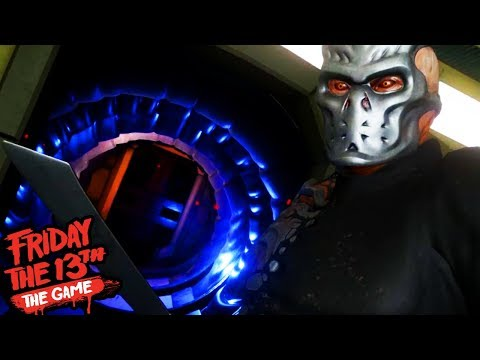HUNTED BY JASON X!    Friday The 13th The Game Virtual Cabin 2.0 (UBER JASON REVEALED)