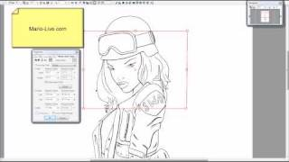 How To Use The Move And Transform Functions In Manga Studio