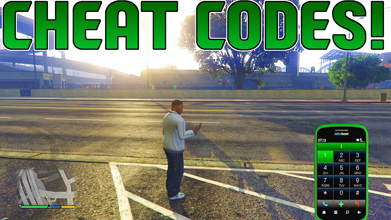 GTA 5 MORE Phone Cheats Phone Number Cheats On GTA 5