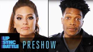 Ashley Graham vs. Jermaine Fowler Interview   Lip Sync Battle Preshow