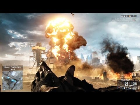 Battlefield 4 Next Gen Graphics (Battlefield 4 Gameplay)