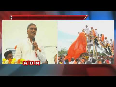 Minister Harish Rao unveils Basaveshwara Statue