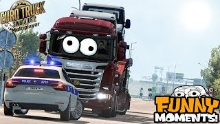 Euro Truck Simulator 2 Multiplayer | Funny Moments & Crash Compilation | #61