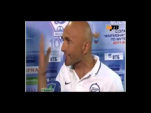 Luciano Spalletti a un giornalista : MA CHE CAZZO DICI !
