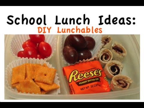 DIY Lunchables for Kids - School Lunch Ideas- I Heart Recipes