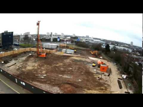 Video: Start of construction work on iCentrum