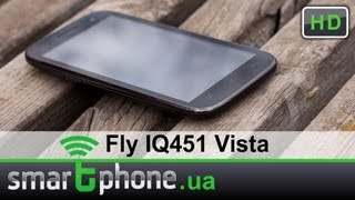 Fly IQ451 Vista - обзор