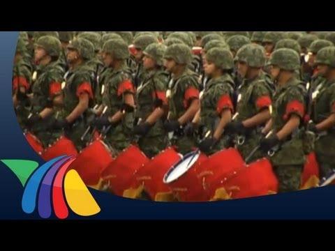 Ejército Chino invitado al desfile del 16 de Septiembre