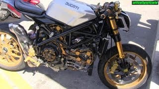 Is this a DUCATI Street Fighter? Or a DUCATI Monster? Or a 1098 Superbike?