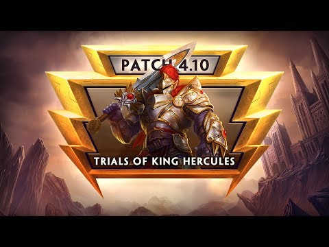 SMITE Patch Notes VOD - Trials of King Hercules (Patch 4.10)
