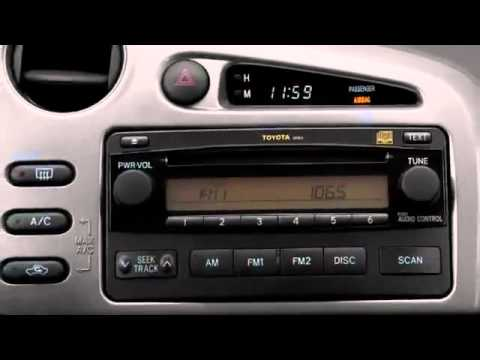 2008 Toyota Matrix Video