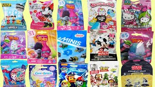 Blind Bags Opening TOYS Dreamworks TROLLS Mickey Mouse Thomas Ryans World Surprise My Little Pony