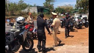 """Trạm CSGT Krông Búk chặn xe mô tô """"khủng"""" và kết cuộc...."""