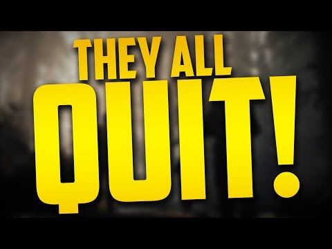 THEY ALL QUIT! - Call of Duty WW2: Road to Commander - EP 19