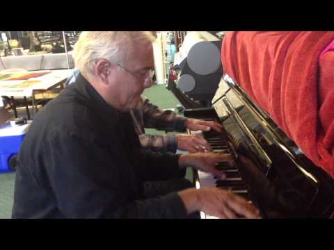 Pete O'Brien and Niles Albering -middle age jam