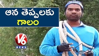 Bithiri Sathi Trying To Catch Monsoon | Sathi Conversation With Savitri | Teenmaar News
