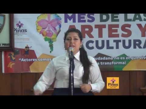 Concurso de Oratoria; Mes de las Artes y la Cultura 2014