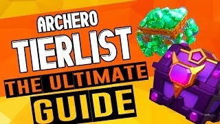 ARCHERO: The Ultimate Guide | Ability Tierlist | Combat Guide | Obsidian Chest & More!