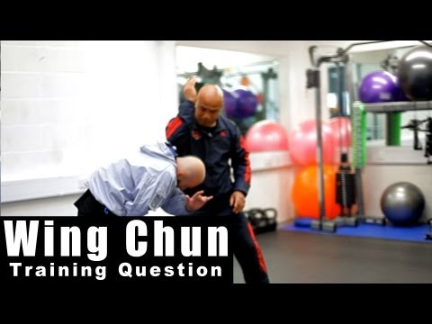 wing chun techniques - How to use elbow drill Q18 Image 1