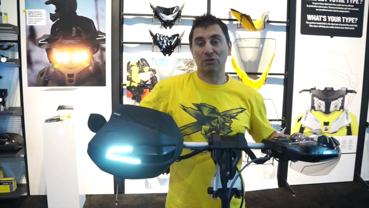 2015 New Ski Doo Handguard And Handlebar Accessories Youtube