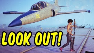 Look out! - GTA 5 Funny Moments