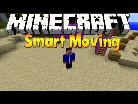 Minecraft 1.6.1 - Smart Moving Mod 1.5.2 - Mod Review