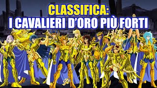 Classifica: I cavalieri d'oro più forti!