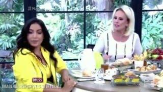Anitta leva bronca de Ana Maria Braga ao vivo na TV
