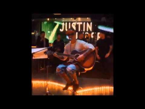 Justin Bieber singing One Time in Tokyo, Japan - 23 April, 2014