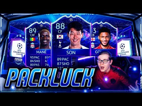 FIFA 20: MEGA PACKLUCK IM ROAD TO THE FINAL PACK OPENING + JOE GOMEZ SBC