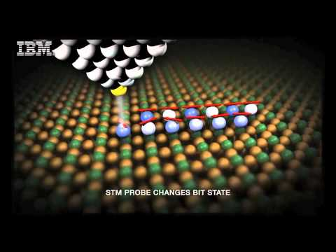 IBM stores binary data on just 12 atoms, one step closer to atomic data storage