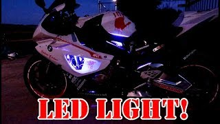 BMW S1000RR Glow Light | Legal?