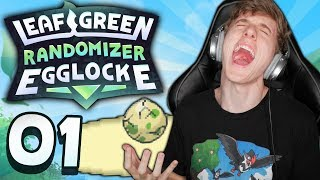 THE WORST LUCK EVER!! | Pokemon Leaf Green Randomizer Egglocke EP 1