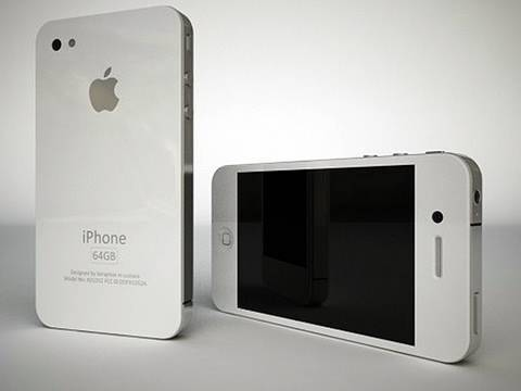 White iPhone 4G!