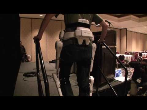 Robot Suit HAL Demo at CES 2011