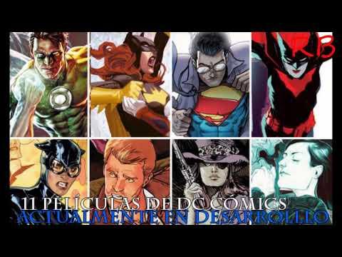 Warner Bros. tiene 11 películas de DC Cómics actualmente en desarrolllo