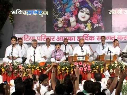 Ni Mein Nachna Mohan De Naal (bhajan) -vinod Agarwalji video
