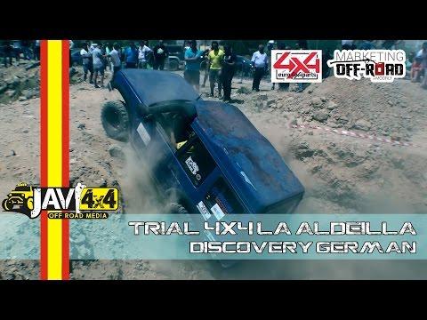 Trial 4x4 de La Aldeilla 2016 (Land Rover Discovery German)