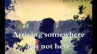 Porcupine Tree - Arriving Somewhere But Not Here (lyrics on screen)