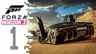 Forza Horizon 3 - EP01 - Getting Started!