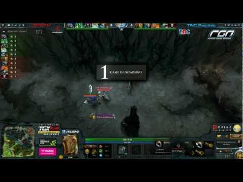 TnC Gaming vs Zenith (The Asia - Tiebreakers)