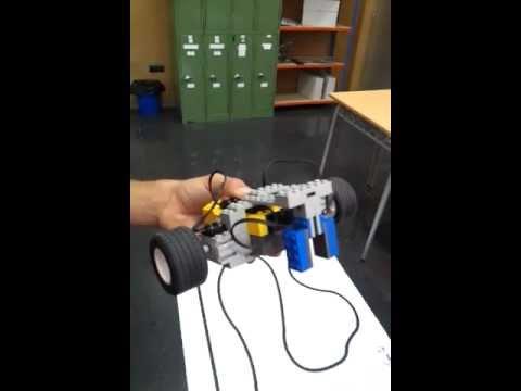 ROBOT LEGO TECNOLOGIA INDUSTRIAL 1 por Daniel y Rosendo