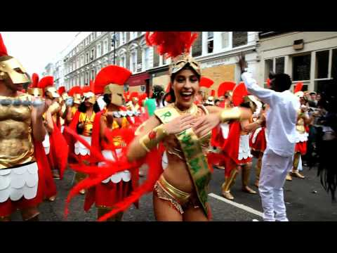 London School of Samba - Notting Hill Carnival 2010 - Gods, Myths and Monsters