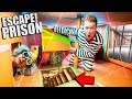 3 Story BOX FORT PRISON Escape HOTEL!! Escape With Spy Gadgets & More! (24 Hour Challenge)