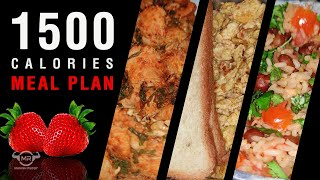 1500 Calories Meal Plan | Low calorie Diet for weight Loss & Muscle Building | Extreme Fat Loss Diet
